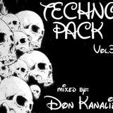 DON KANALIE-Technopack Vol. 3