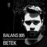 BALANS005 - Betek