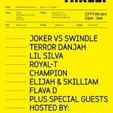Flava D set Butterz is 3 Rave Live @ Cable