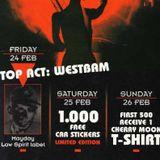 """Westbam at """"4 Years Cherry Moon"""" @ Cherry Moon (Lokeren - Belgium) - 24 February 1995"""