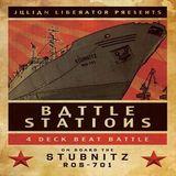 Julian Liberator vs. Chris Liberator @ BattleStations - MS Stubnitz London Royal Docks - 15.12.2012