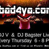 2 hr DnB Show - DJ V & DJ Bagster on 2bad4ya.com