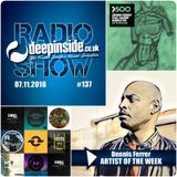 DEEPINSIDE RADIO SHOW 137 (Dennis Ferrer Artist of the week)