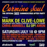 Live @ Carmina Soul 2009 Mix by Chris Annibell