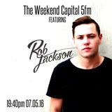 Rob Jackson on The Weekend Capital 5fm May 7 2016