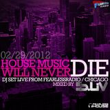 B-Liv at Fearless House Radio / Chicago / Feb 2012