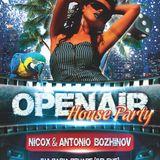 Nicox & Antonio Bozhinov - OpenAir House Party @ Belene 2012