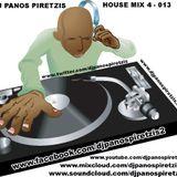 DJ PANOS PIRETZIS - HOUSE MIX (4-013)