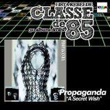 CLASSE DE 85 - Propaganda