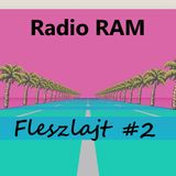 Radio RAM - Fleszlajt 17.04.2015 (interview & vinyl set) vol 2