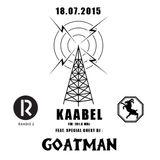 Raadio 2 - Kaabel - GOATMAN (18.07.2015)