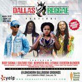 Dallas Reggae Fest Teaser   Ghetto Radio - DJ Bling Live.