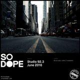 So Dope - Studio 923 (060416)