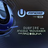 UMF Radio 505 - Dubfire B3B Nicole Moudaber B3B Paco Osuna