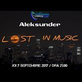 Aleksunder (Live Set) - Lost in Music IV (September 2017- @PartyVibe Music Records)