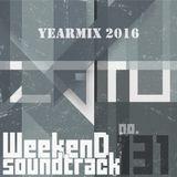 Weekend Soundtrack #131 (Yearmix 2016)