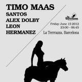 Santos Live @ La Terraza, Barcelona (Rockets & Ponies Off-Sonar) [15-06-2012]