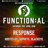 Function:AL April 2018 @ Lightbox - Response - Hosted by Sopheye and Blackeye MC