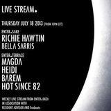 Richie Hawtin - Live @ ENTER.Sake Space Ibiza (Spain) 2013.07.18.