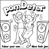 Colour your own...disco funk jam