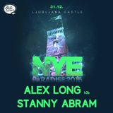 Alex Long b2b Stany Abram @ NYE Paradise, 31.12.2015, Ljubljanski grad