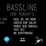 JAY ROME & MC KRYPTOMEDIC @ MONDAYS BASSLINE - VIENNA (27.03.2017)