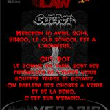 METAL IS THE LAW N°30 du 16 avril 2014  GUT-ROT