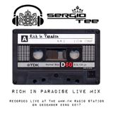 Rich In Paradise / Sergio Tee Live at AMW.FM 22-12-2017