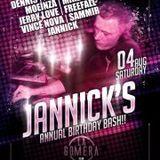 dj's Moeinza vs Mike B @ Club La Gomera - Jannick's B-Bash 04-08-2012