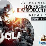 DJ Premier Live from HeadQCourterz (SiriusXM) - 2017.10.13