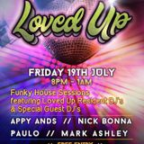 My promo mix for Loved Up in July 2019