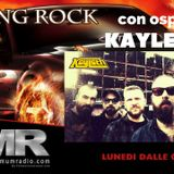intervista ai Kayleth a  Racing Rock su Metal Maximum Radio il 5-03-2018