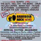 # 180 Arariboia Rock News - 29.08.2018 - Especial Festival Imaginário