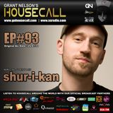 Housecall EP#93 (25/07/13) incl. a guest mix from Shur-i-kan
