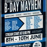 DjCrazyTBones and Tony Kudros B-Day Mayhem