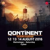 The Qontinent 2016 | Mainstage | Saturday | Cyber