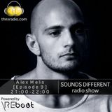 Thnx Radio Pres. 'SOUNDS DIFFERENT': Alex Melis In The Mix [Powered by REboot] 1.12.16