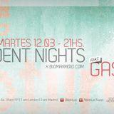 WE MUST - DJ RESIDENT GASHO! / columna de producción de MICROESFERA - 12.03.13 - BIOMARADIO.COM