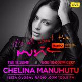 02 Chelina Manuhutu - Live @ It's All About the Music, Ibiza Global Radio (Ibiza, ES) - 13.06.2017