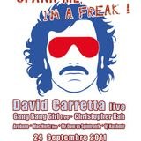 "Christopher Kah live @ ""Spank me, I'm a Freak !"" 24/09/2011"
