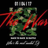 M-Club ¦ The War ¦ DJ Battle ¦ 01/04/2017