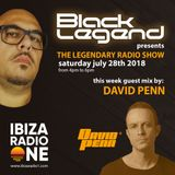 Black Legend pres. The Legendary Radio Show (21-07-2018) with guest mix by David Penn