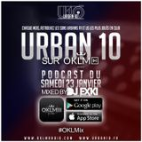 Urban 10 sur OKLM Radio #OKLMix - Janvier 2016 / mixed by DJ Exki