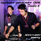 UpBeat 028 Mixed by Double 6 (Live @ Sanctuary Party)