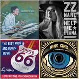 Route 66 Rock & Blues Radio Show (02/07/17) NEW King King & ZZ Ward tracks plus live Steve Winwood