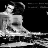 Alkalino Moon Rise Podcast for Radio Meuh