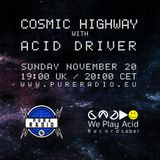 Cosmic Highway @ Pure Radio Holland 20NOV2016_pt1
