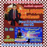 Emmanuel Guadarrama Las romanticas del Don Radiantv con Alex Rodriguez 12-09-16