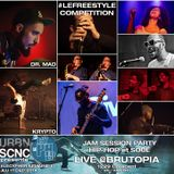 #LECYPHER WEEK 10 2014/12/11 // #LEFREESTYLE 1 + DR MAD // BRUTOPIA // hip-hop & soul jam session