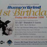 Live Dj Set @ Chasers 1997 .....on Kiss live / old skool funk & Urban set